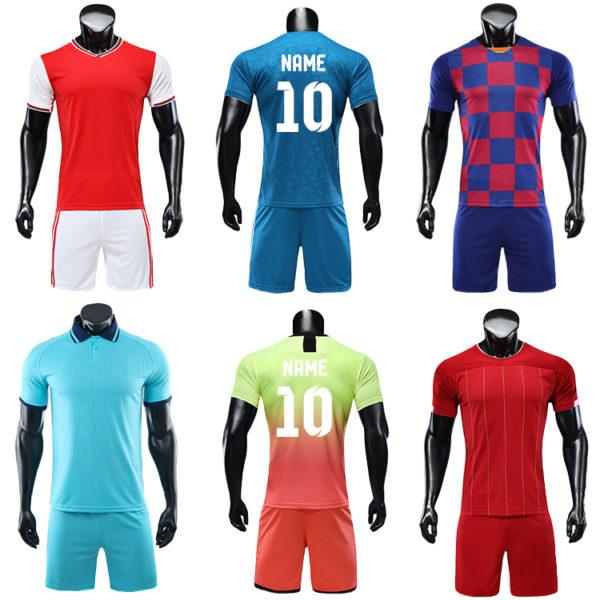 2019 2020 soccer uniform custom training equipment set team wear 3