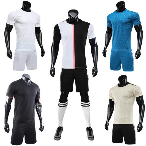 2019 2020 soccer uniform set football jersey 3