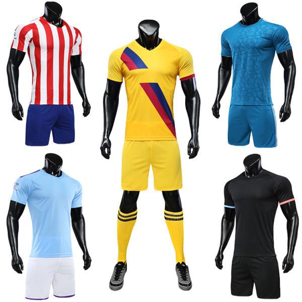 2019 2020 soccer uniform set football jersey 4