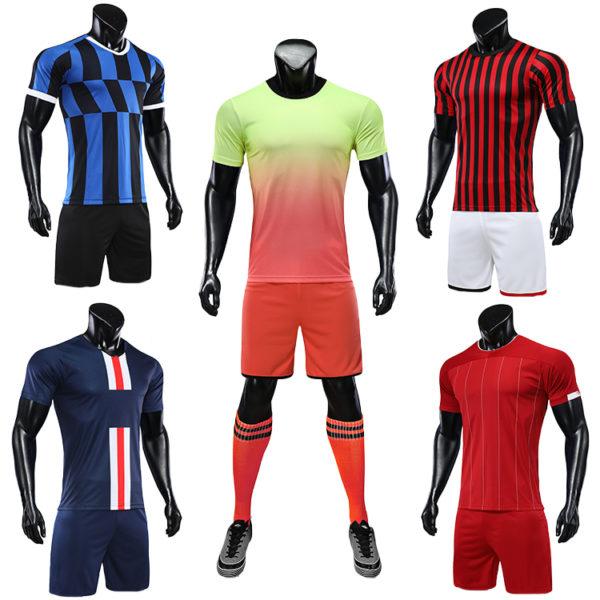 2019 2020 soccer uniform set football jersey 5