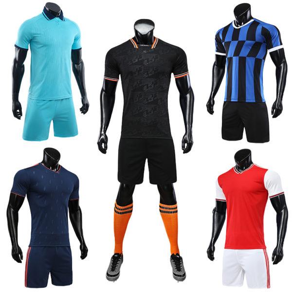 2019 2020 soccer uniform set football jersey 6
