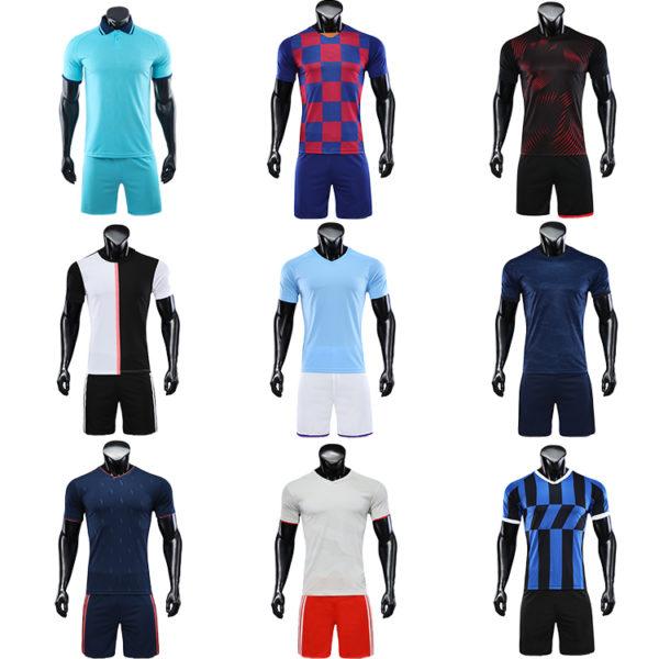 2019 2020 soccer wear football jersey men uniforms for kids uniform 1