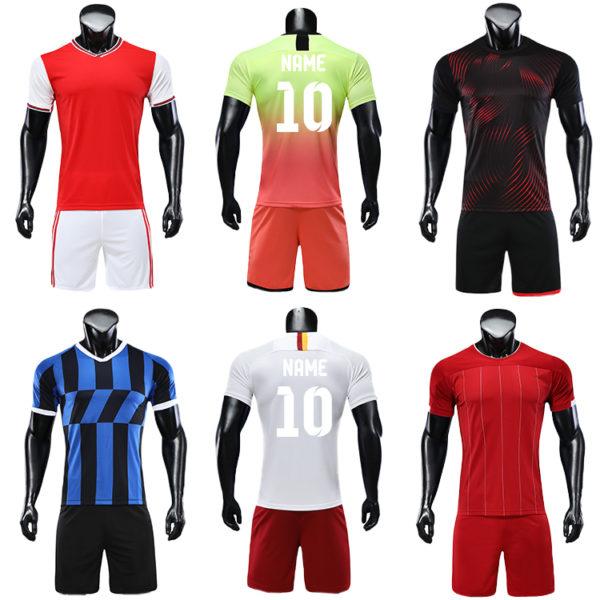 2019 2020 soccer wear football jersey men uniforms for kids uniform 2