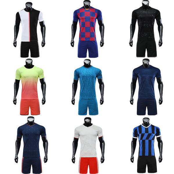2019 2020 soccer wear football jersey men uniforms for kids uniform 3