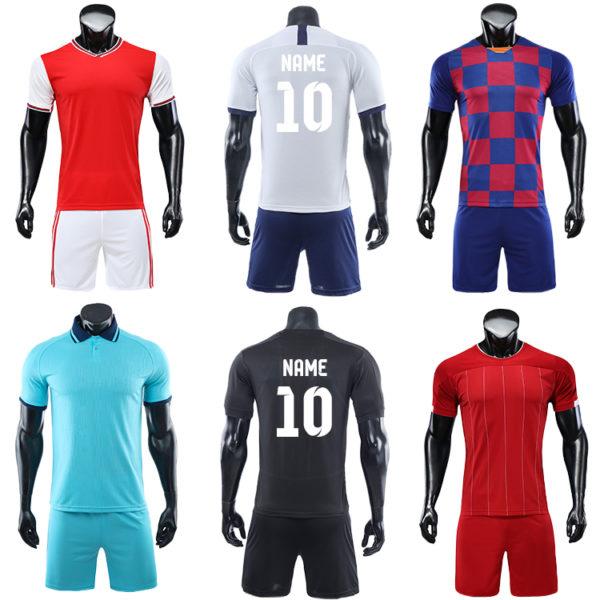 2019 2020 soccer wear football jersey men uniforms for kids uniform 5