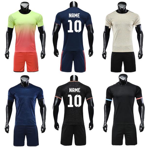 2019 2020 soccer wear football jersey men uniforms for kids uniform 6