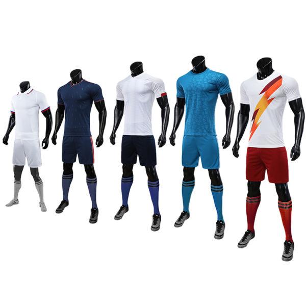 2019 2020 soccer wear football uniform sublimation long sleeves 3