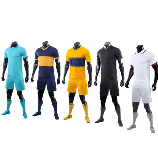 2019 2020 soccer wear football uniform sublimation long sleeves 5