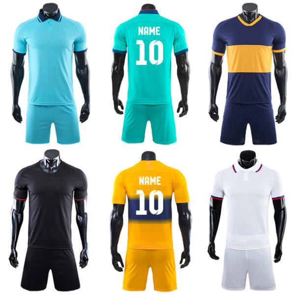2019 2020 soccer wear orange football long sleeve for men 3