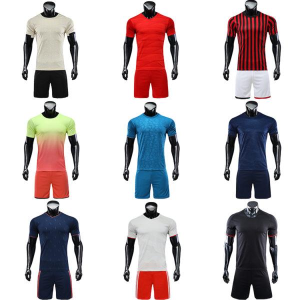 2019 2020 soccer wear orange football long sleeve for men 4