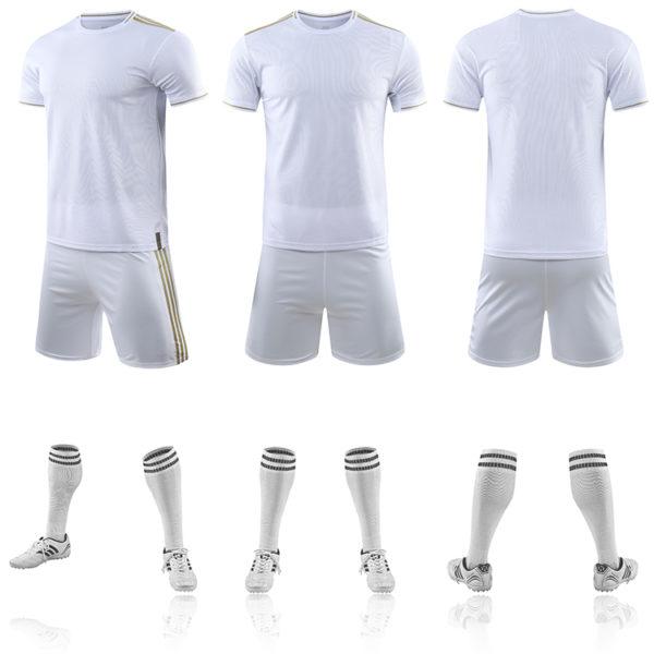 2019 2020 wholesale blank soccer jersey tshirt men football team jerseys cheap 6