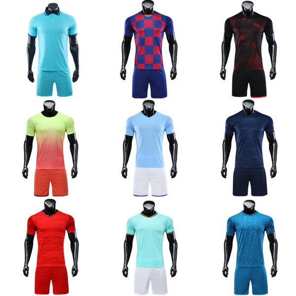 2019 2020 wholesale football shirt jersey blank jerseys 1 1