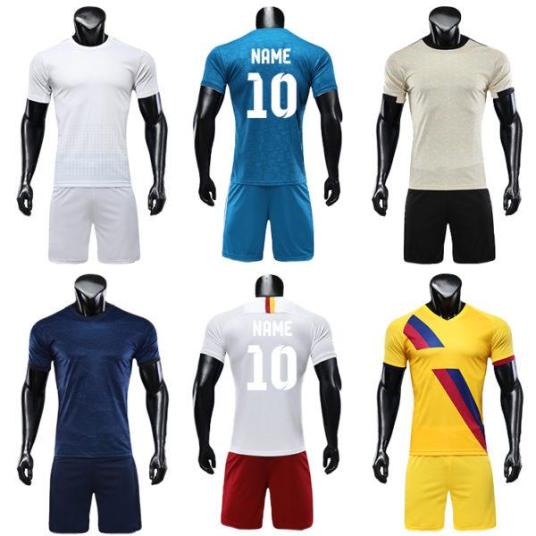 2019 2020 wholesale football shirt jersey blank jerseys 3 1