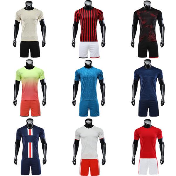 2019 2020 wholesale football shirt jersey blank jerseys 5 1