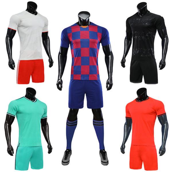 2019 2020 wholesale soccer uniforms uniformes de futbol morados femeninos 5