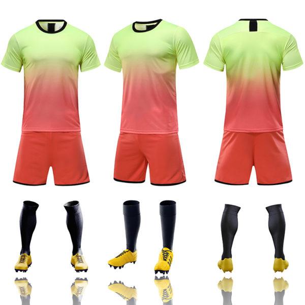 2019 2020 youth football jerseys wholesale yellow soccer jersey uniforms 3 1