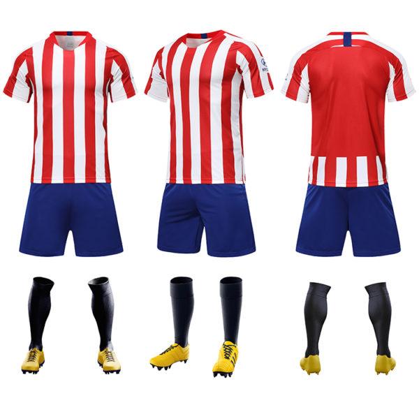 2019 2020 youth football jerseys wholesale yellow soccer jersey uniforms 4 1
