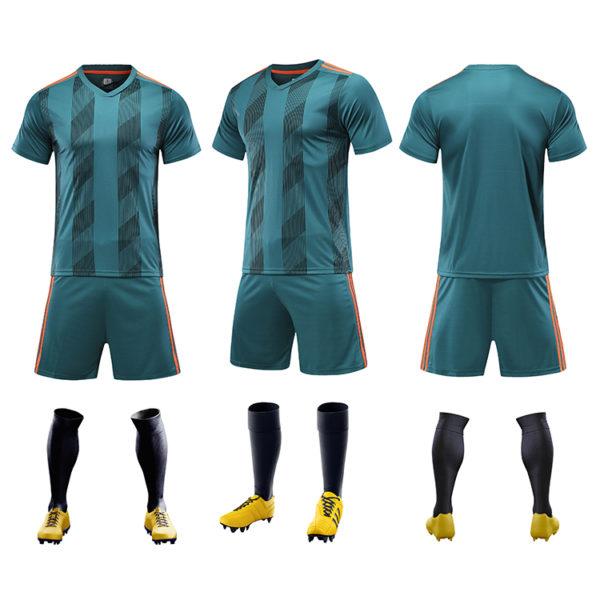2019 2020 youth football jerseys wholesale yellow soccer jersey uniforms 5 1
