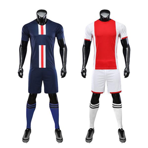 Soccer Wear Oem Soccer Uniform Set Custom Football Jersey