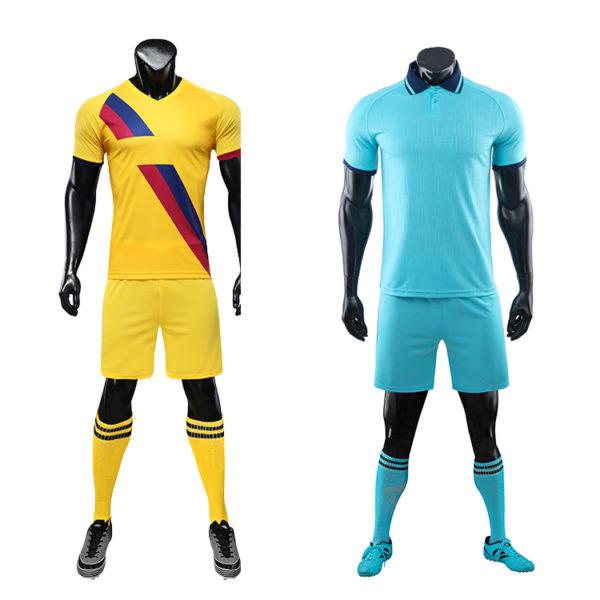 Soccer Wear Oem Soccer Uniform Set Custom Football Jersey Soccer Uniform For Men5